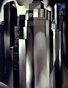 Tamara de Lempicka, Skyscrapers