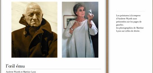 L'œil ému, Andrew Wyeth et Martine Lyon : le livre