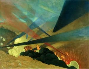 Felix Vallotton, un art du front (français et anglais) dans art verdun-1917-by-felix-vallotton-300x232