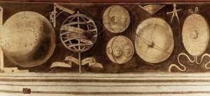 frise des arts libéraux et mécaniques astronomie
