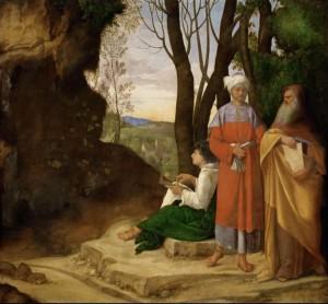 trois philosophes 1505-08 (Vienne Kunsthistorisches Museum) 3