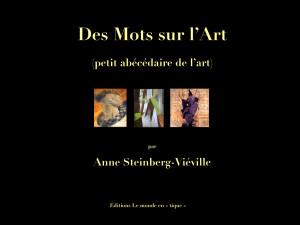 Des Mots sur l'Art couv - copie.001