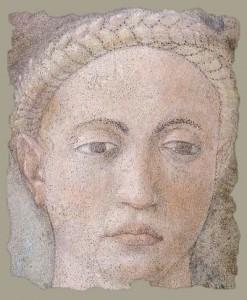 Piero fresques-vraie-croix Épisode 1 mort d'Adam détail%0A