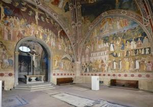 1. andrea di bonaiuto Chapelle des espagnols (Sta Maria Novella) vue d'ensemble (1)