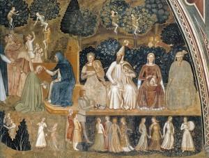 4. andrea di bonaiuto Triomphe de l'Eglise 3 - les vices et les péchés