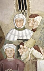 4. andrea di bonaiuto Triomphe de l'Eglise - Pétrarque, Dante, Boccace - Version 2
