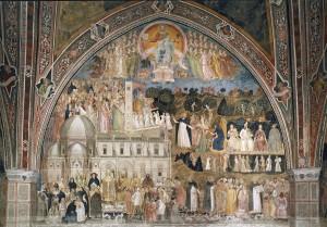 4. andrea di bonaiuto Triomphe de l'Eglise vue d'ensemble
