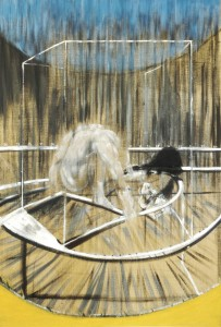 'The suffering body' … Francis Bacon's Study for Crouching Nude (1952).