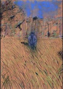 Etude de silhouette dans un paysage