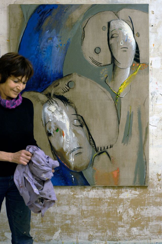 Eska Kayser dans son atelier