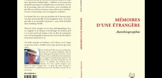 Mémoires d'une étrangère (ISBN 978-2-87683-591-7) par Anne Steinberg